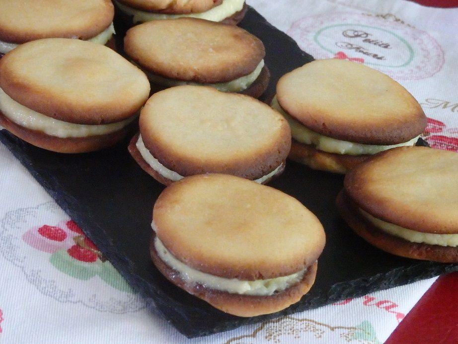 Biscuits calédoniens à la crème d'ananas
