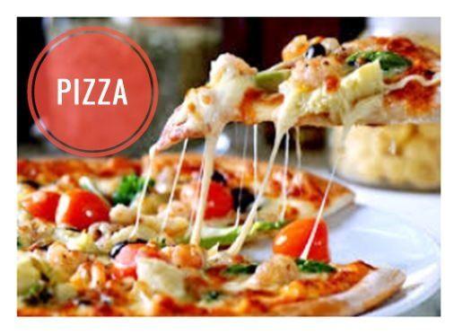 Pizza jambon blanc chorizo