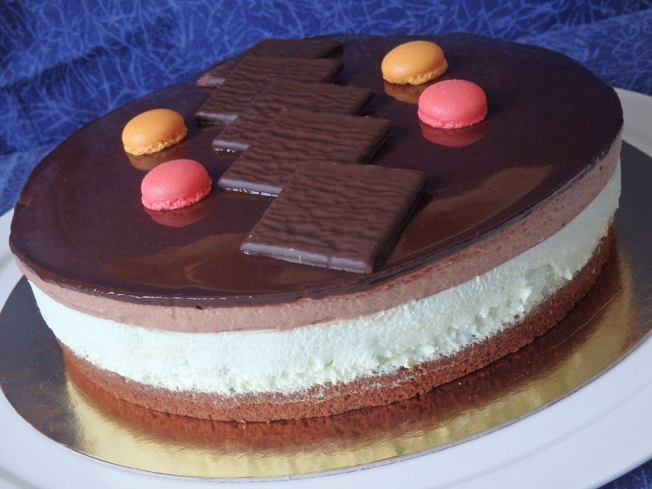 "Entremets ""Chocolate mint"""