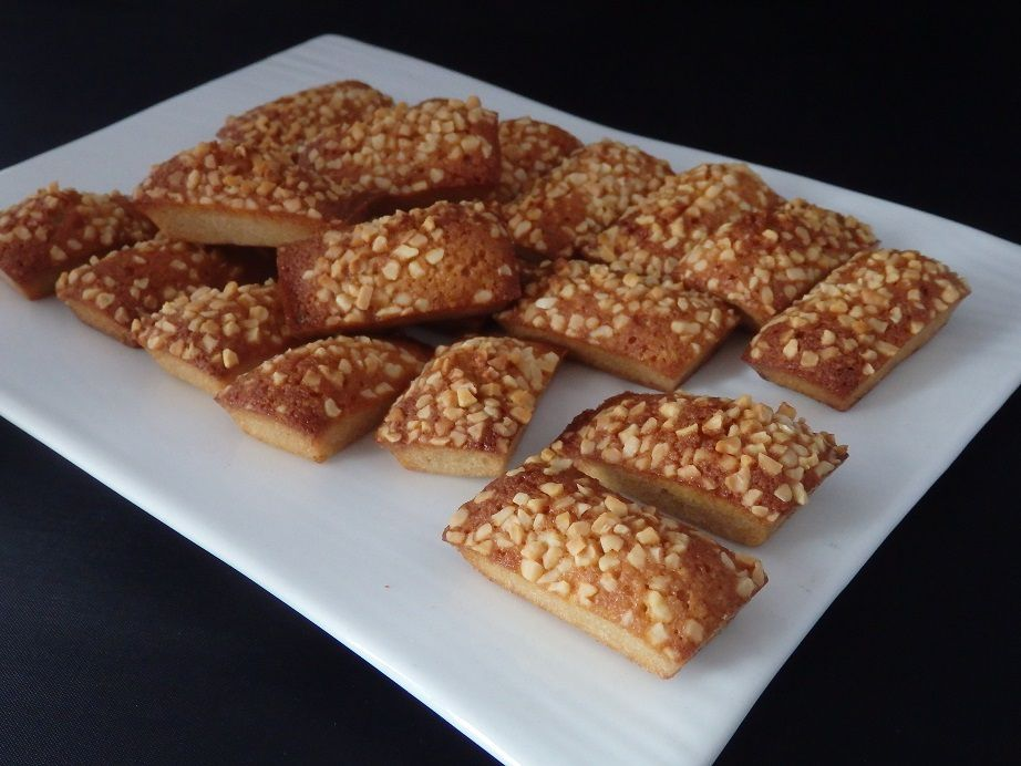 Financiers pralinés
