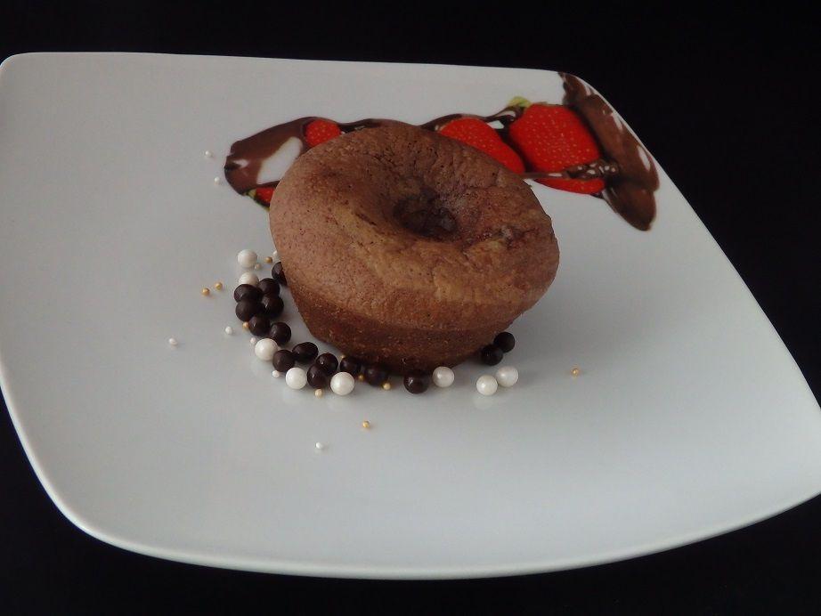 Moelleux chocolat cœur coulant