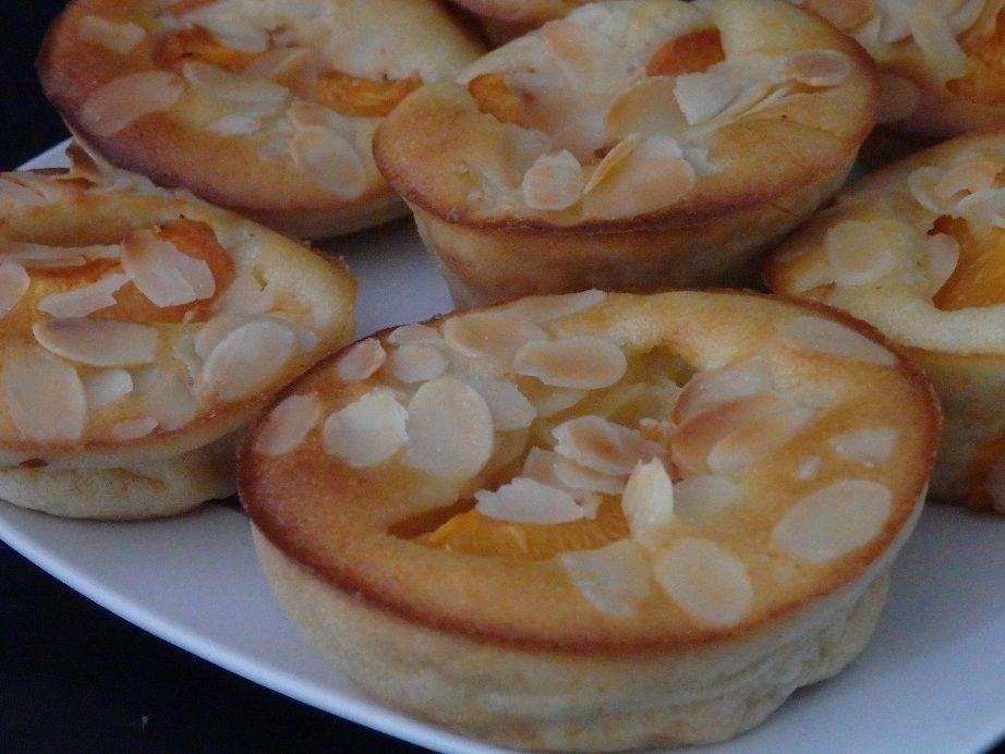 Moelleux aux abricots et aux amandes