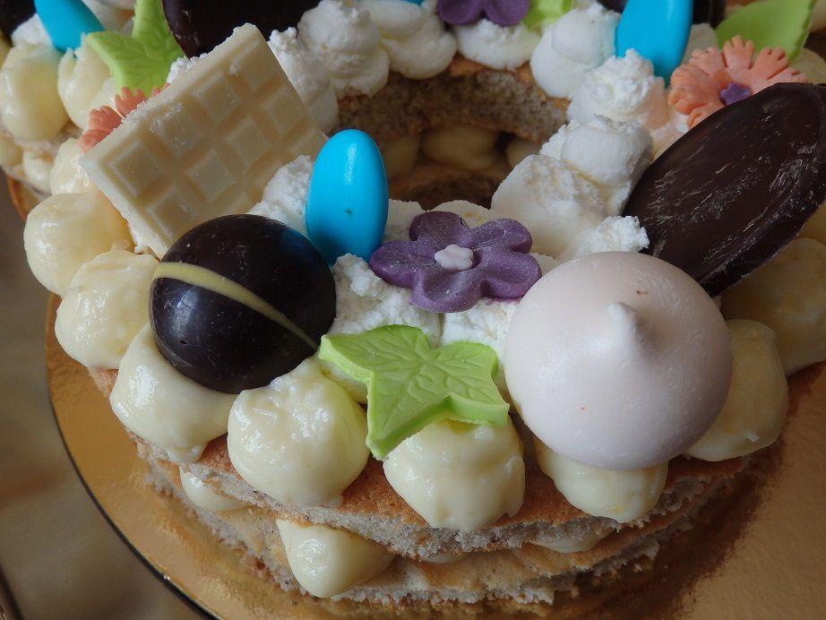 Number cake 80