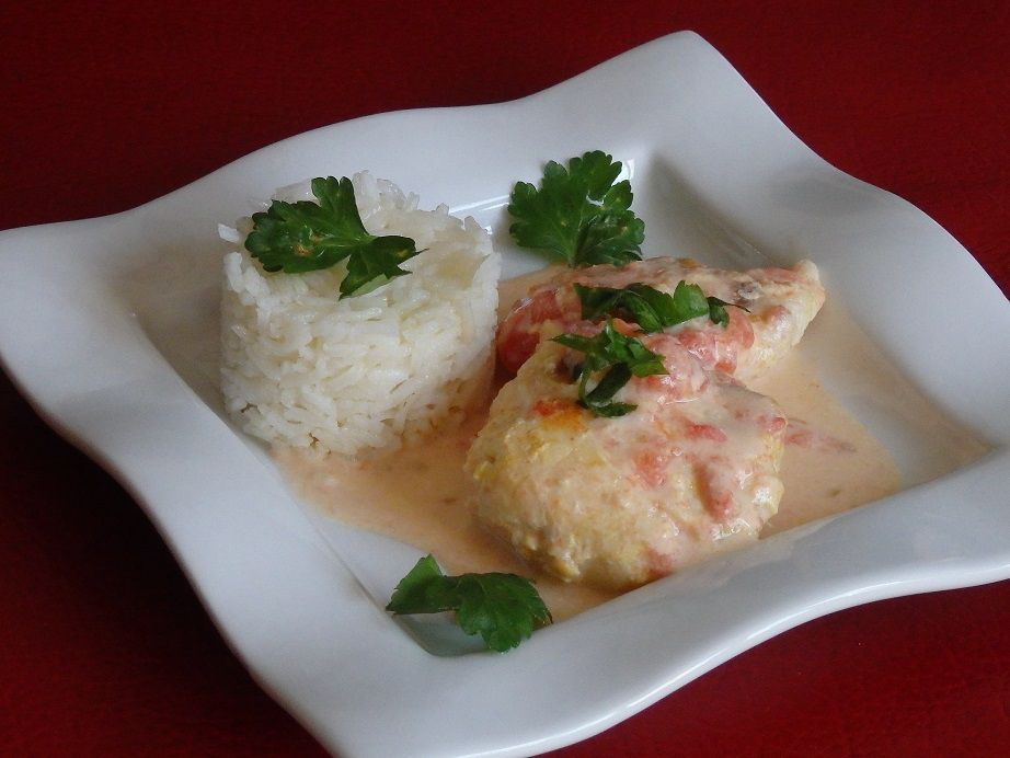 Curry de merlu