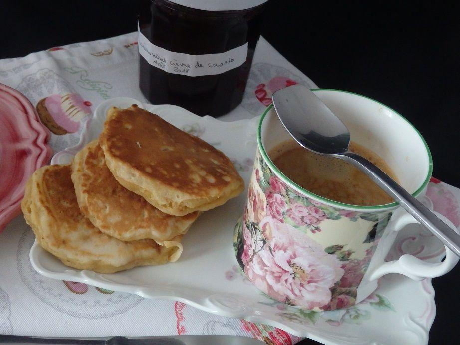Pancakes pommes cannelle