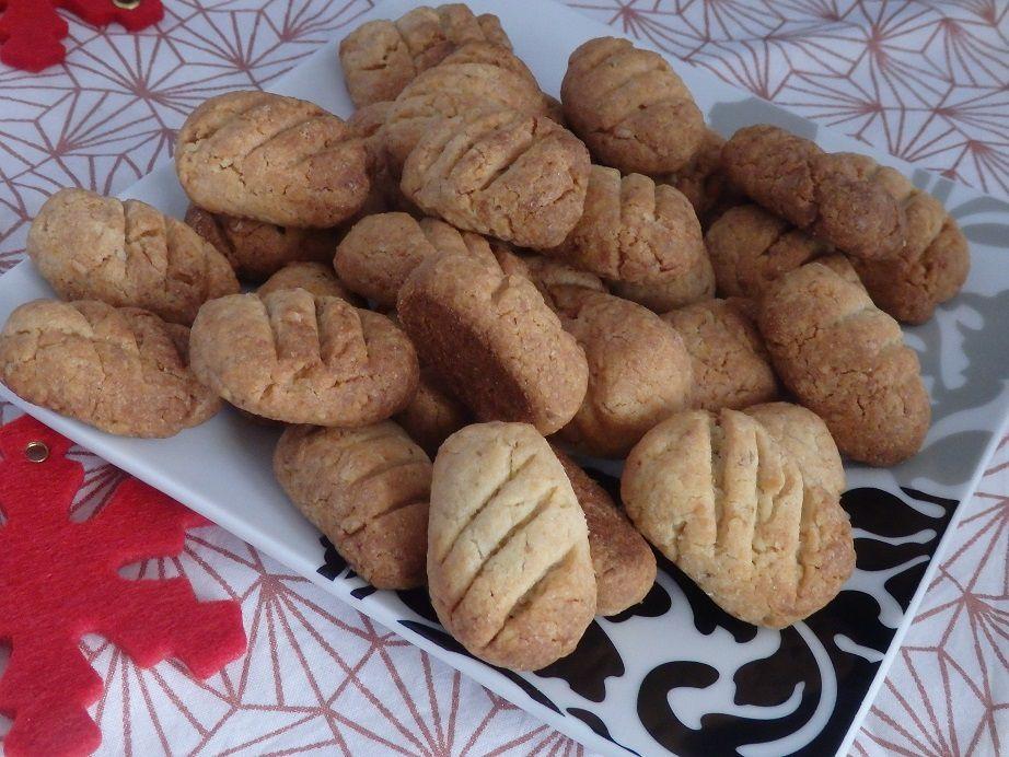 Bâtonnets aux noix