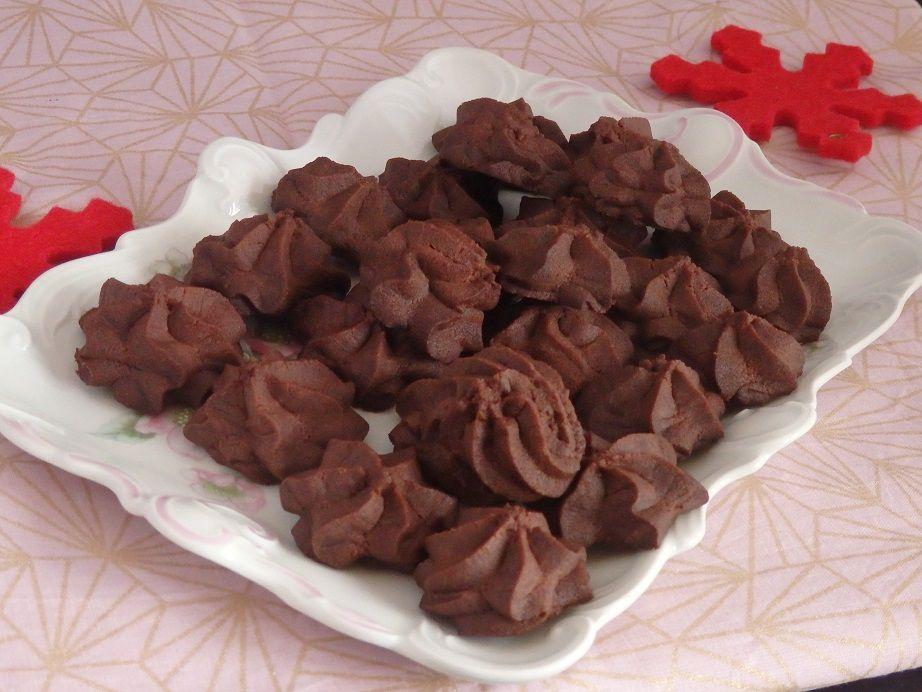 Sablés de Noël au chocolat : bredele