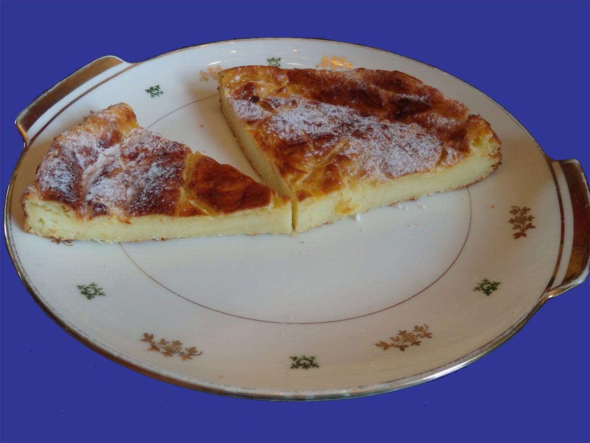 La galette franc- comtoise