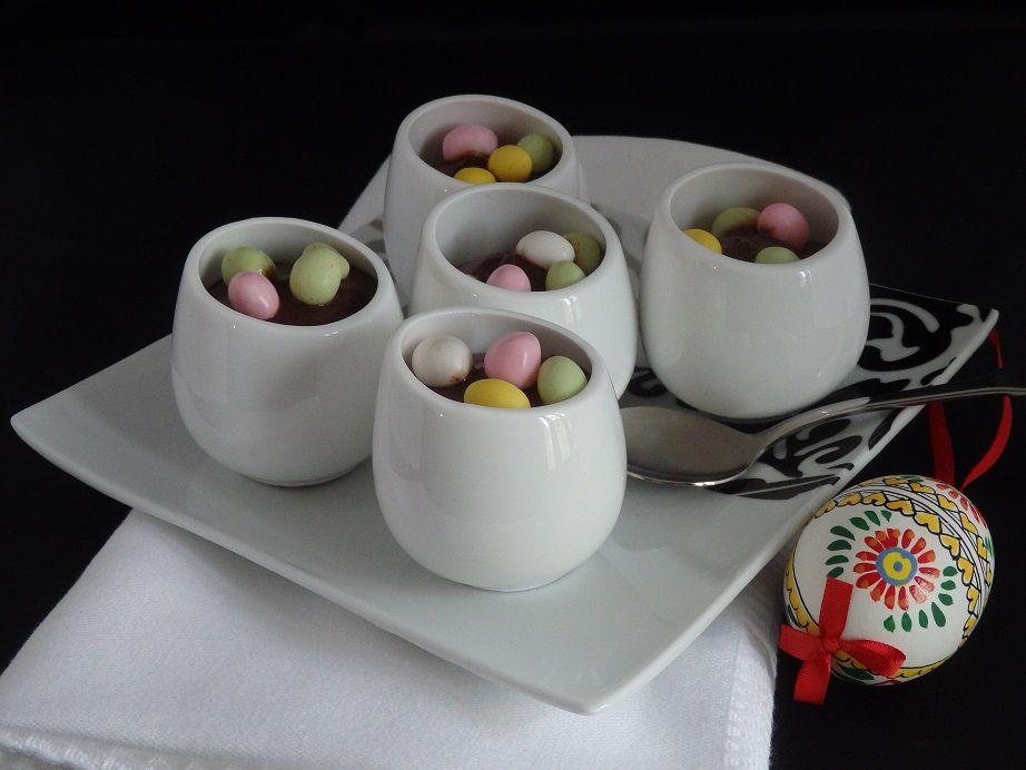 Crème au chocolat type Danette sans œuf