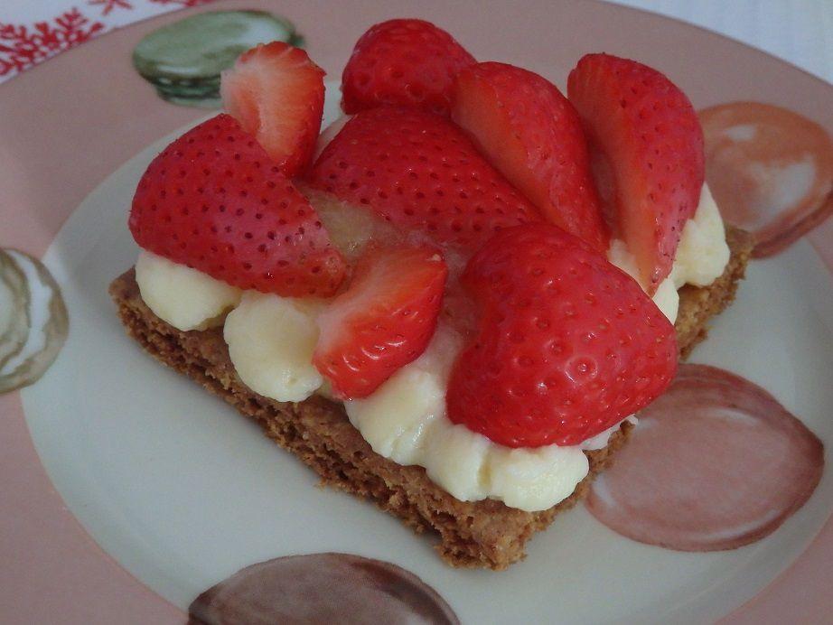 Tartelettes fraises rhubarbe