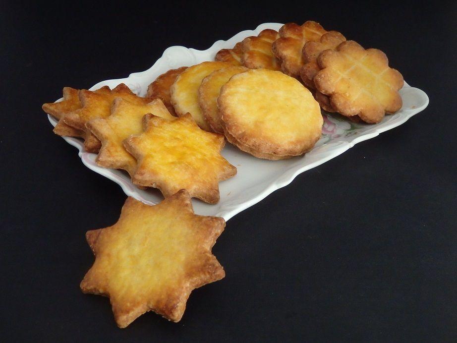 Sablés bretons au beurre salé et fleur de sel