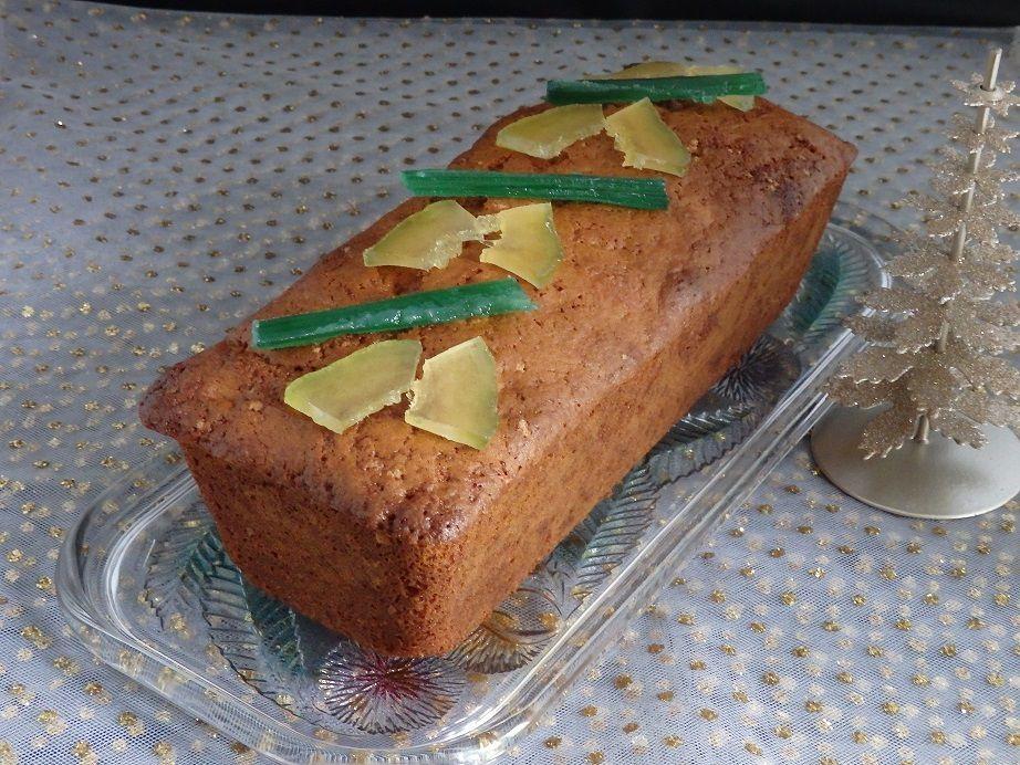 Cake aux épices de Noël