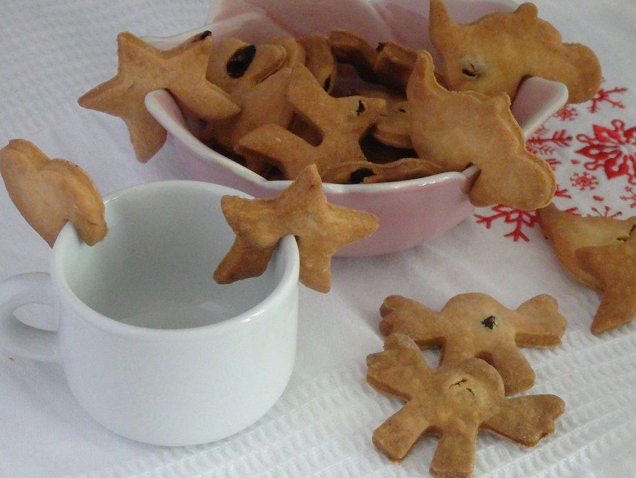 Biscuits de tasses aux raisins secs