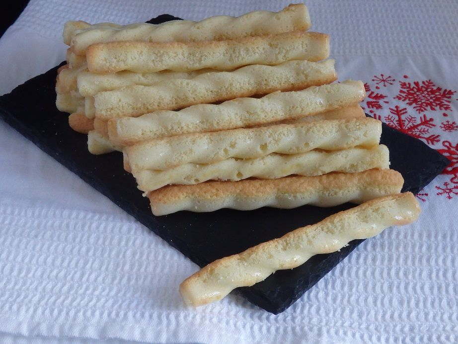 Biscuits à la cuillère en sticks