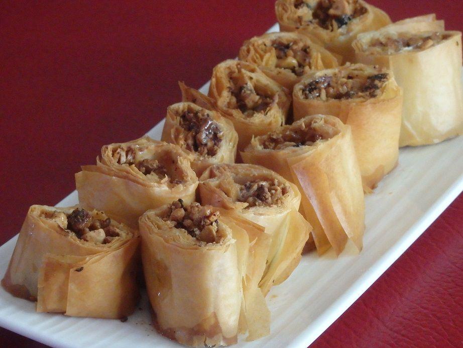 Les saragli (pâtisserie crétoise)
