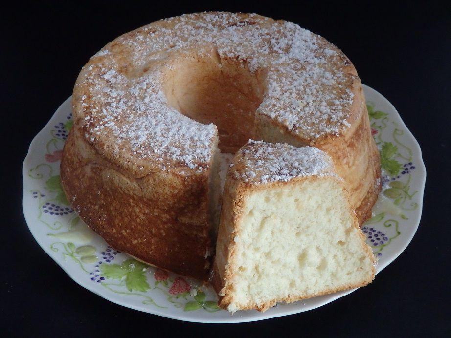Angel cake au citron