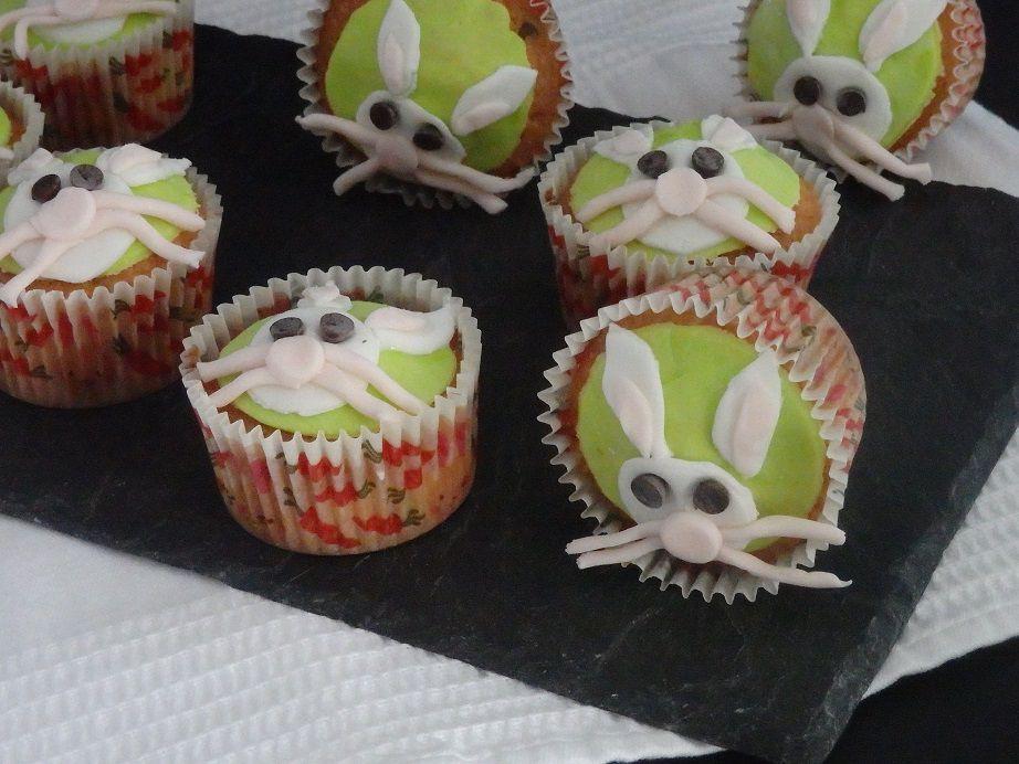 Cupcakes « Lapins de Pâques »