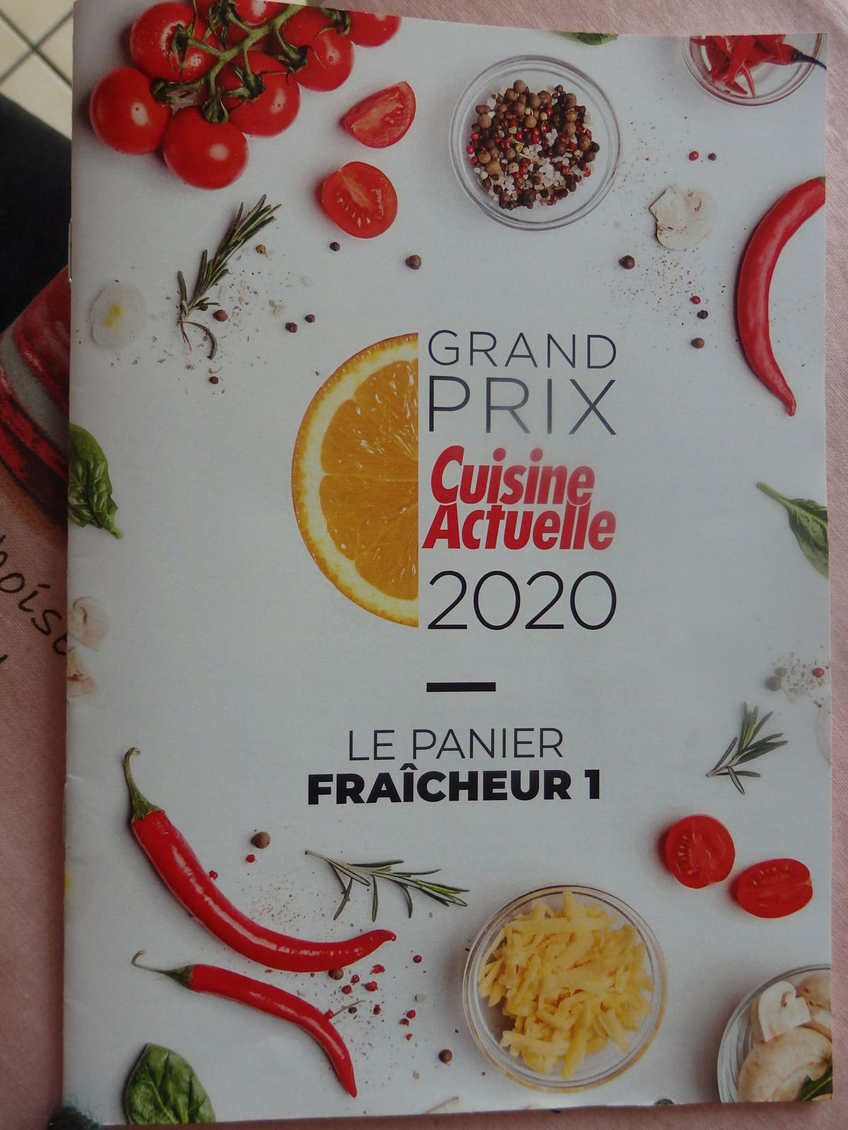Grand prix Cuisine Actuelle 2020
