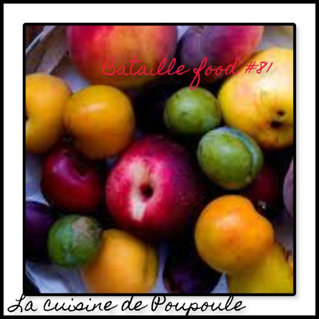 Feuillantine amandine aux prunes