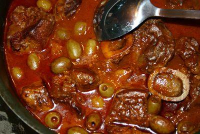 Recette-Ragoût de veau Corse