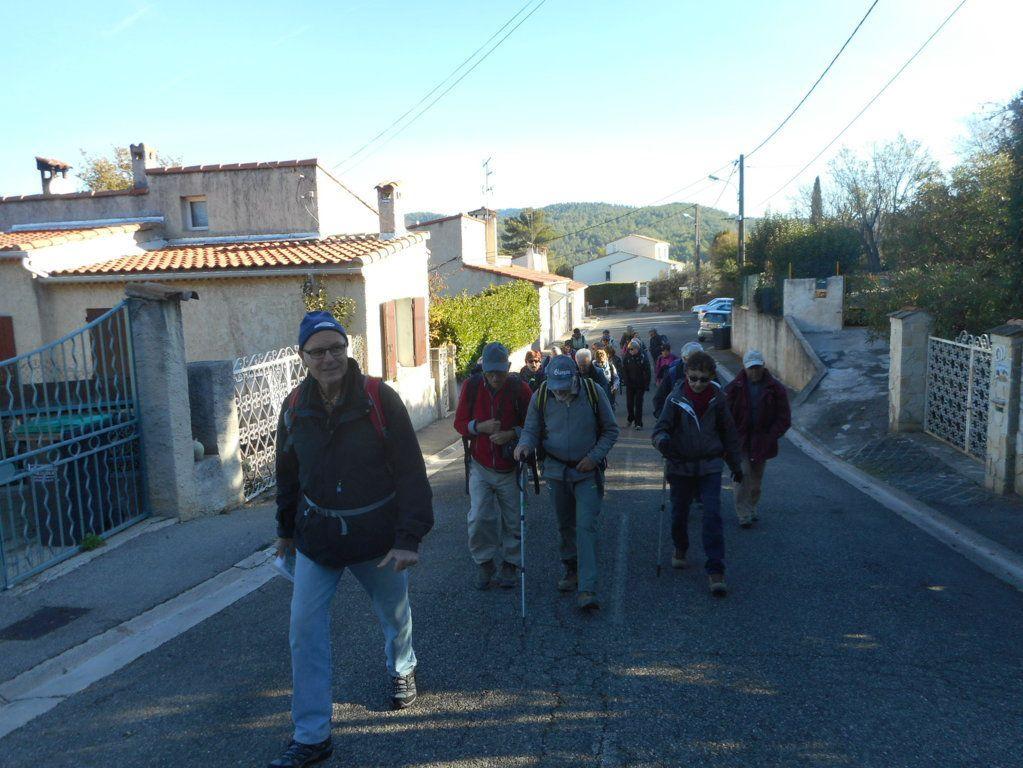 Rando Le Mont du Marseillais 20 Nov.2017