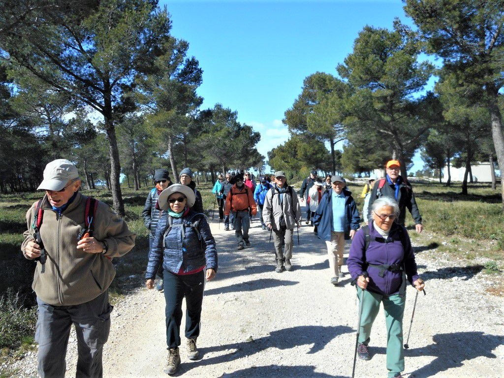Rando du 9 Mars 2020 Plaine d'Escourillon