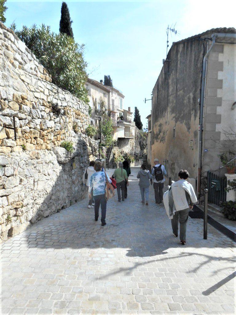 Rando culturelle La Cadiere d'Azur 12/03/2020