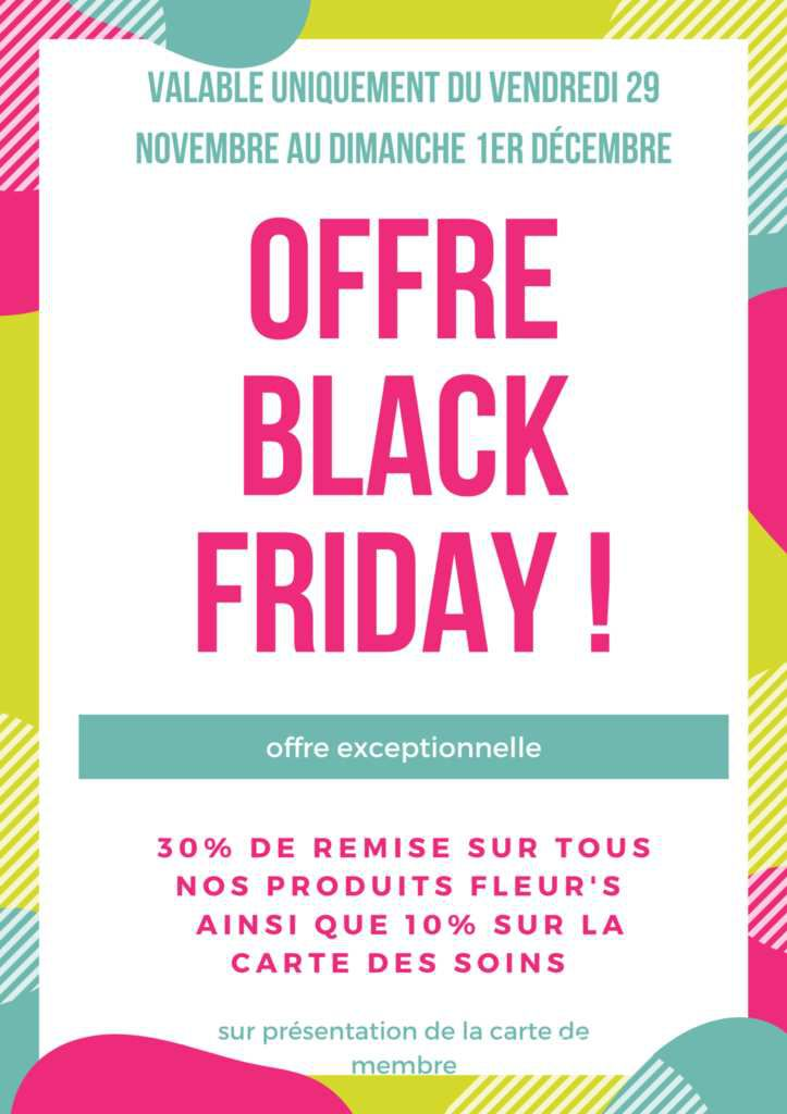 Black Friday au spa de Falgos