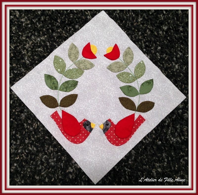 Jingle BOM - Appliqué 5
