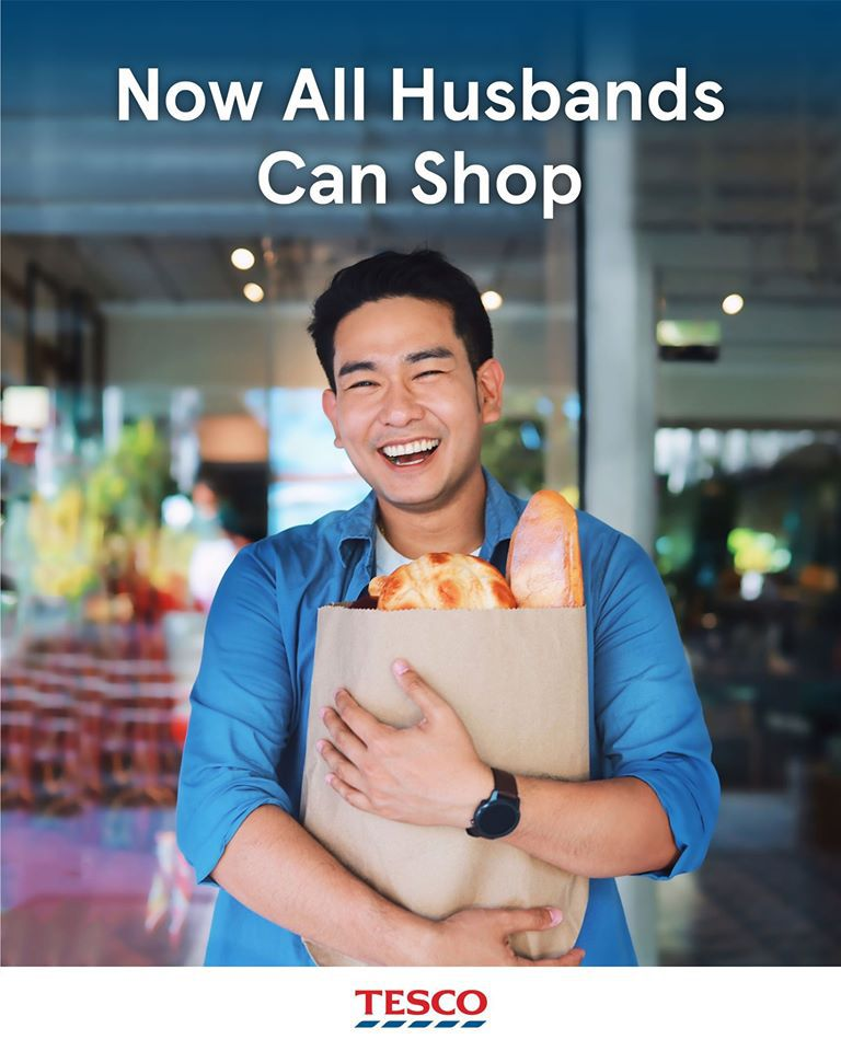 Maintenant tous les maris peuvent faire les courses