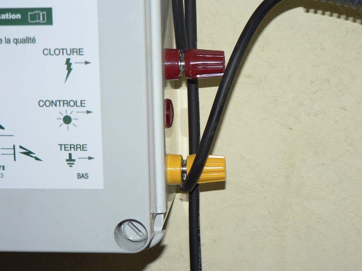 Arrêt et mise en marche de la clôcure électrique