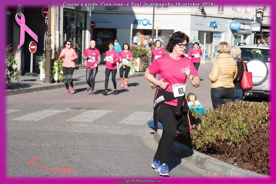 Octobre Rose Toul 5kms - 10km de Saint Dié