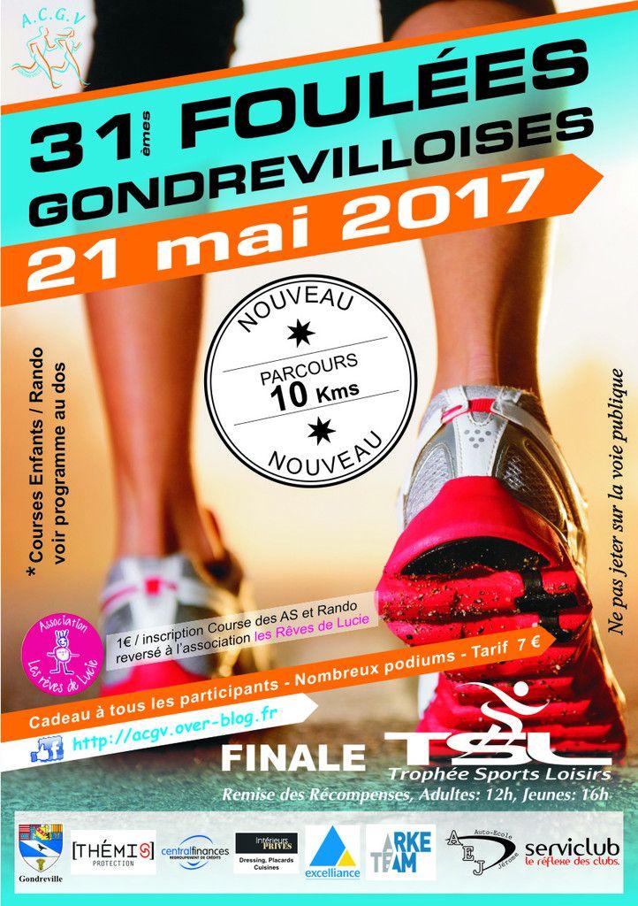 FOULEES GONDREVILLOISES 2017 MERCI !!!!!!!!!