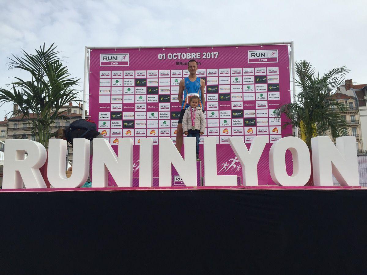 Run in Lyon Semi Marathon. Récit Grégory W.
