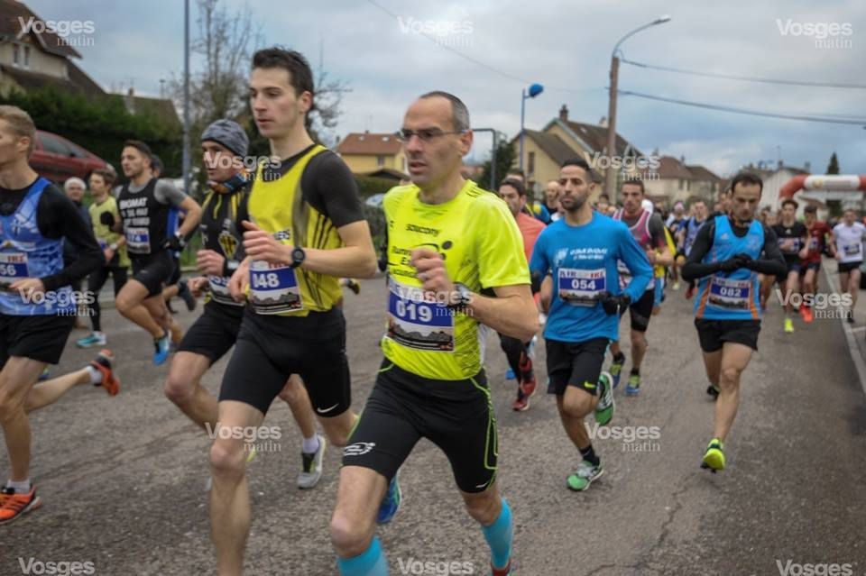 Ronde Hivernale de Thaon. 10km officiel.