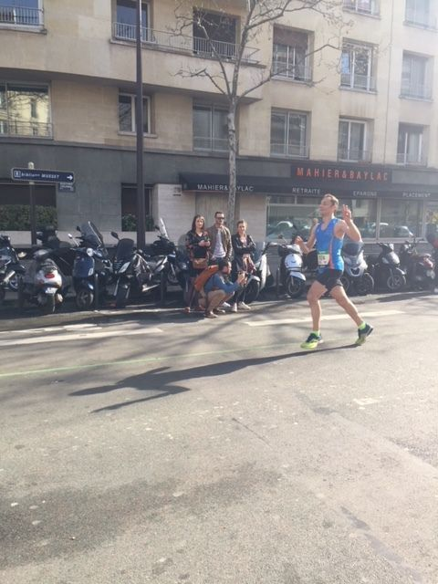 MARATHON DE PARIS PAR GREGORY