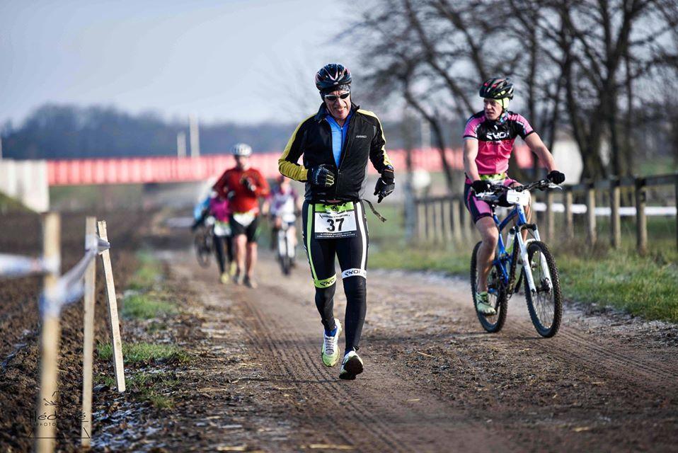 La concentration avant tout !!!! au Run & Bike Eckwersheim
