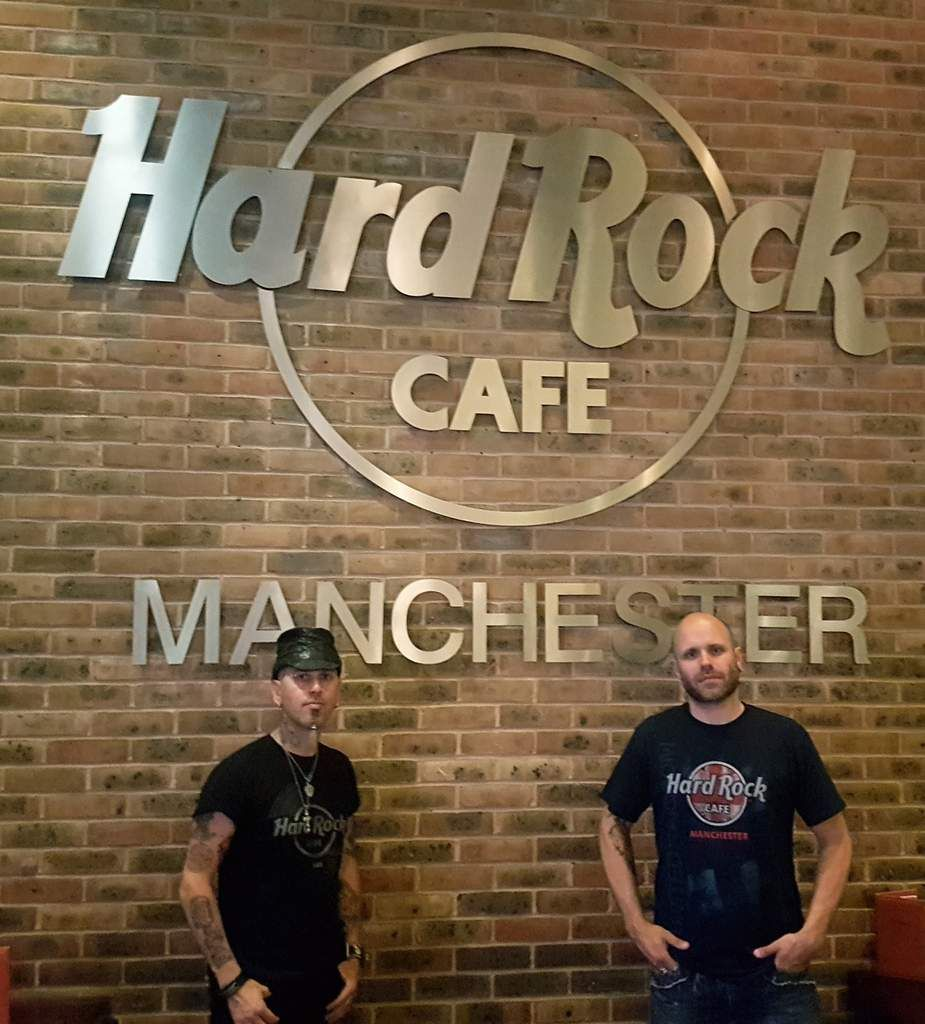 Hard Rock Café Manchester (HRC European Tour)