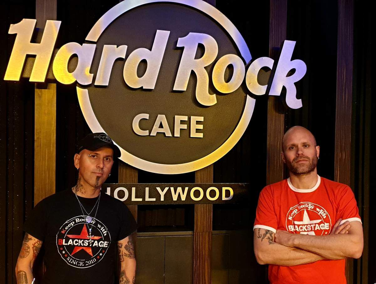 Blackstage live au Hard Rock Café de San Francisco