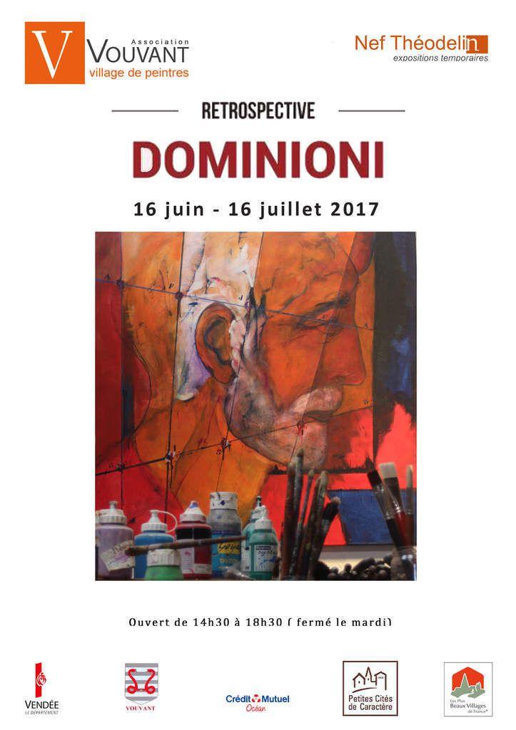 Exposition DOMINIONI, en juin 2017