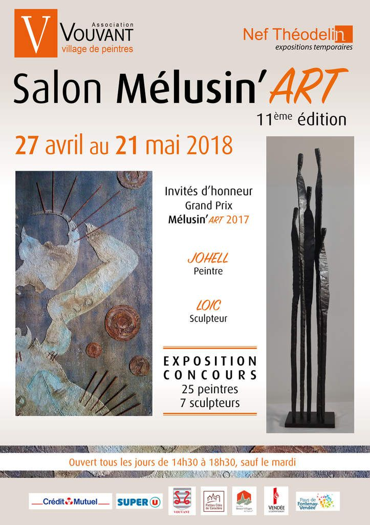 Salon Mélusin'Art du 27 avril au 21 mai 2018