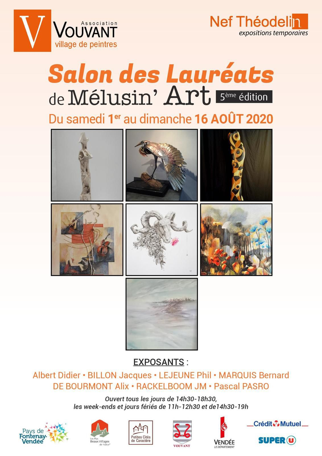 Salon des Lauréats de Melusin'Art, 5eme Edition