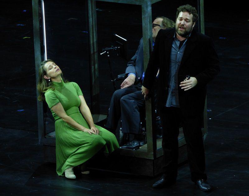 Sophie Koch (Marguerite) et Bryan Hymel (Faust)