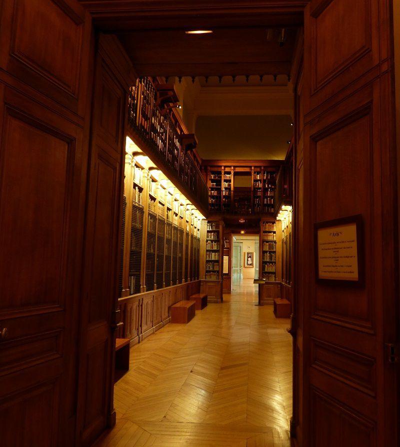 Allée de la Bibliothèque