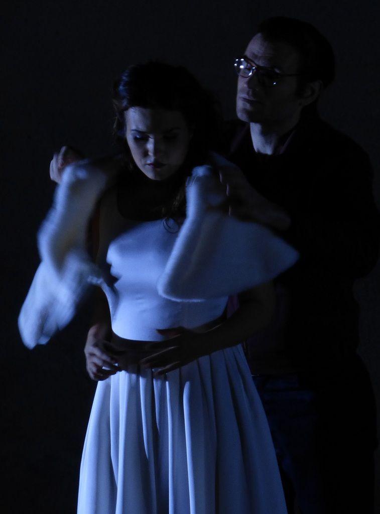 Olga Peretyatko (Gilda) et Michael Fabiano (Le Duc de Mantoue)