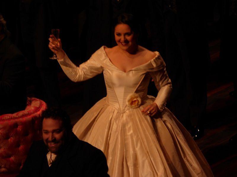 Maria Agresta (Violetta) et Bryan Hymel (Alfredo)