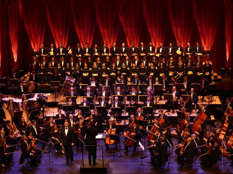 Concert pour la fête de la Musique 2016 à l'Opéra Bastille