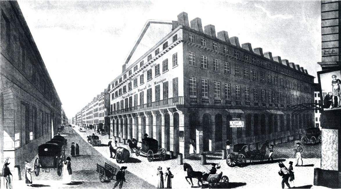 L'opéra de la rue Richelieu, ou Théâtre des Arts.