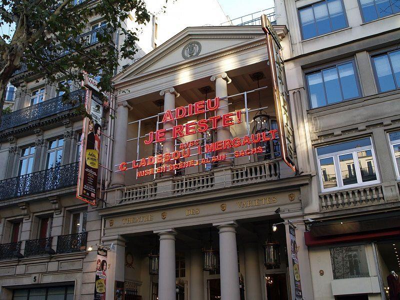 Le Théâtre des Variétés.