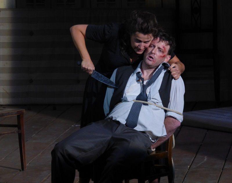 Cecilia Bartoli (Norma) et  Norman Reinhardt (Polione)